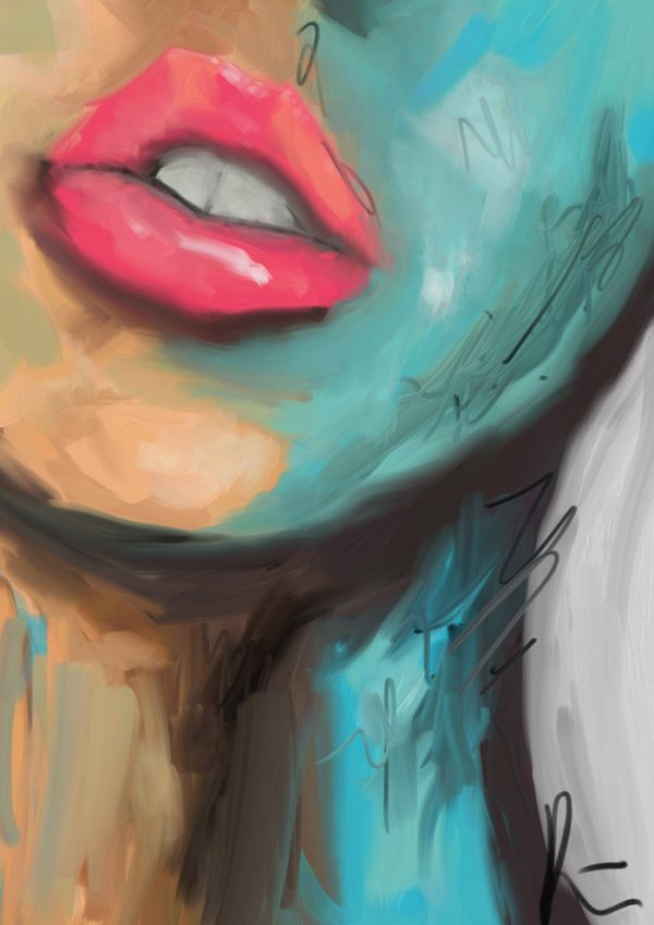Abstract lips